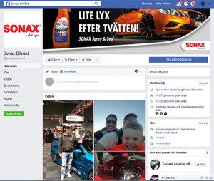 Länk till FB Sonax Bilvård